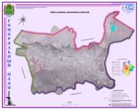 Карта границ населенных пунктов